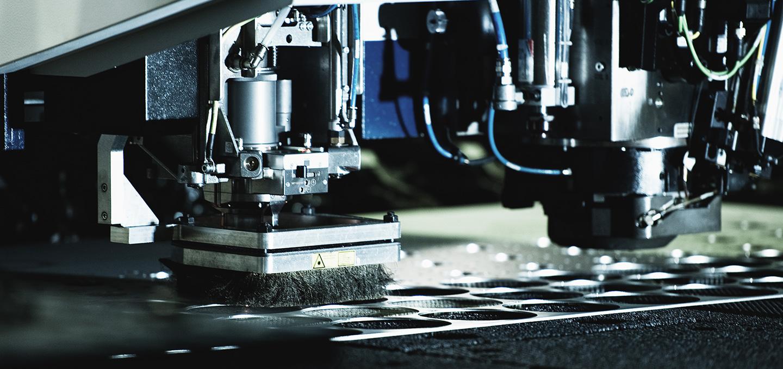 Laserschneiden Blechbearbeitung König