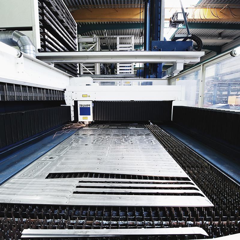 Präzisions Laserschneiden effektiv und kostengünstig